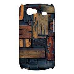 Letters Wooden Old Artwork Vintage Samsung Galaxy Nexus S i9020 Hardshell Case