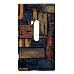 Letters Wooden Old Artwork Vintage Nokia Lumia 920