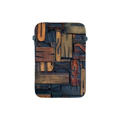 Letters Wooden Old Artwork Vintage Apple iPad Mini Protective Soft Cases