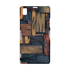 Letters Wooden Old Artwork Vintage Sony Xperia Z1