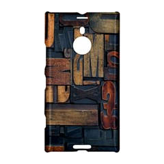 Letters Wooden Old Artwork Vintage Nokia Lumia 1520