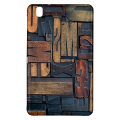 Letters Wooden Old Artwork Vintage Samsung Galaxy Tab Pro 8.4 Hardshell Case