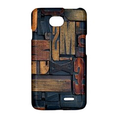 Letters Wooden Old Artwork Vintage LG Optimus L70
