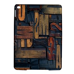 Letters Wooden Old Artwork Vintage iPad Air 2 Hardshell Cases