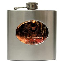 Locomotive Hip Flask (6 oz)
