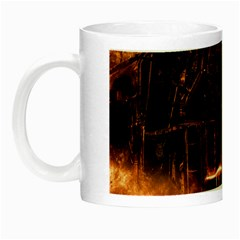 Locomotive Night Luminous Mugs