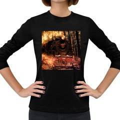 Locomotive Women s Long Sleeve Dark T-Shirts