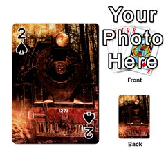 Locomotive Playing Cards 54 Designs