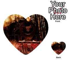Locomotive Multi-purpose Cards (Heart)