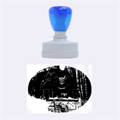 Locomotive Rubber Oval Stamps