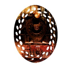 Locomotive Ornament (Oval Filigree)