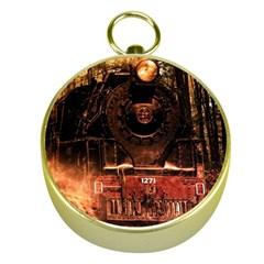 Locomotive Gold Compasses