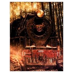 Locomotive Drawstring Bag (Large)