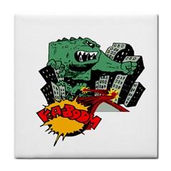Monster Tile Coasters