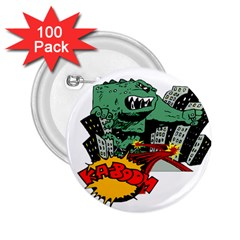 Monster 2.25  Buttons (100 pack)