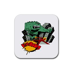 Monster Rubber Coaster (Square)