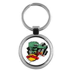 Monster Key Chains (Round)