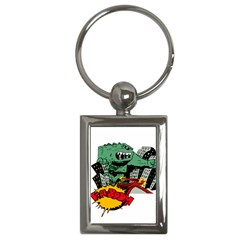 Monster Key Chains (Rectangle)