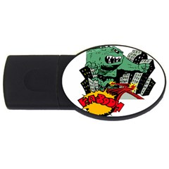 Monster USB Flash Drive Oval (2 GB)