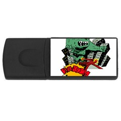 Monster USB Flash Drive Rectangular (2 GB)