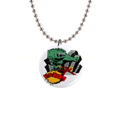 Monster Button Necklaces
