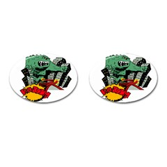 Monster Cufflinks (Oval)