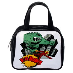 Monster Classic Handbags (One Side)