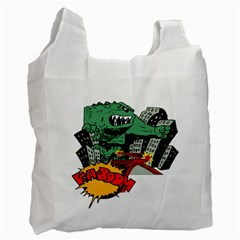 Monster Recycle Bag (Two Side)