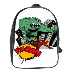 Monster School Bags(Large)