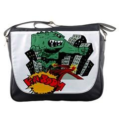 Monster Messenger Bags
