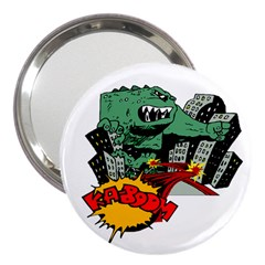 Monster 3  Handbag Mirrors