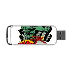 Monster Portable USB Flash (One Side)
