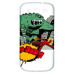 Monster Samsung Galaxy S3 S III Classic Hardshell Back Case