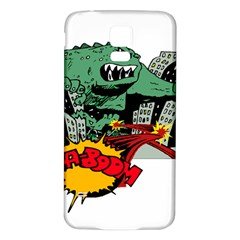 Monster Samsung Galaxy S5 Back Case (White)
