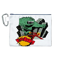 Monster Canvas Cosmetic Bag (L)
