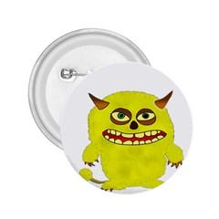 Monster Troll Halloween Shudder  2.25  Buttons