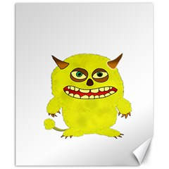 Monster Troll Halloween Shudder  Canvas 20  x 24