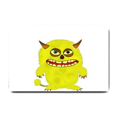 Monster Troll Halloween Shudder  Small Doormat