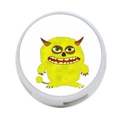 Monster Troll Halloween Shudder  4-Port USB Hub (Two Sides)
