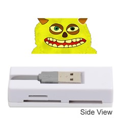 Monster Troll Halloween Shudder  Memory Card Reader (Stick)