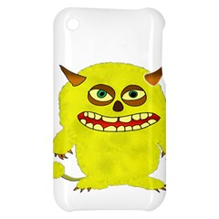 Monster Troll Halloween Shudder  Apple iPhone 3G/3GS Hardshell Case