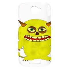 Monster Troll Halloween Shudder  HTC One S Hardshell Case