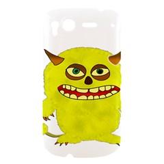Monster Troll Halloween Shudder  HTC Desire S Hardshell Case