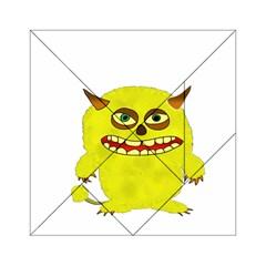 Monster Troll Halloween Shudder  Acrylic Tangram Puzzle (6  x 6 )