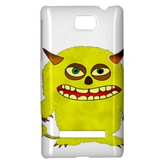 Monster Troll Halloween Shudder  HTC 8S Hardshell Case