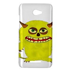 Monster Troll Halloween Shudder  HTC Butterfly X920E Hardshell Case