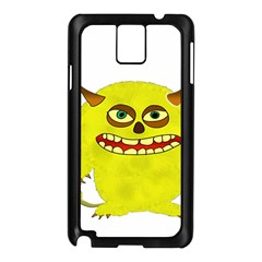 Monster Troll Halloween Shudder  Samsung Galaxy Note 3 N9005 Case (Black)