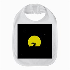 Moon And Dragon Dragon Sky Dragon Bib