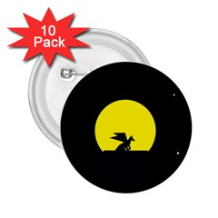Moon And Dragon Dragon Sky Dragon 2.25  Buttons (10 pack)