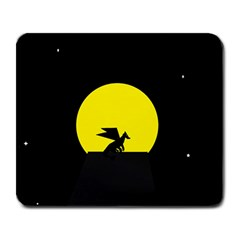 Moon And Dragon Dragon Sky Dragon Large Mousepads